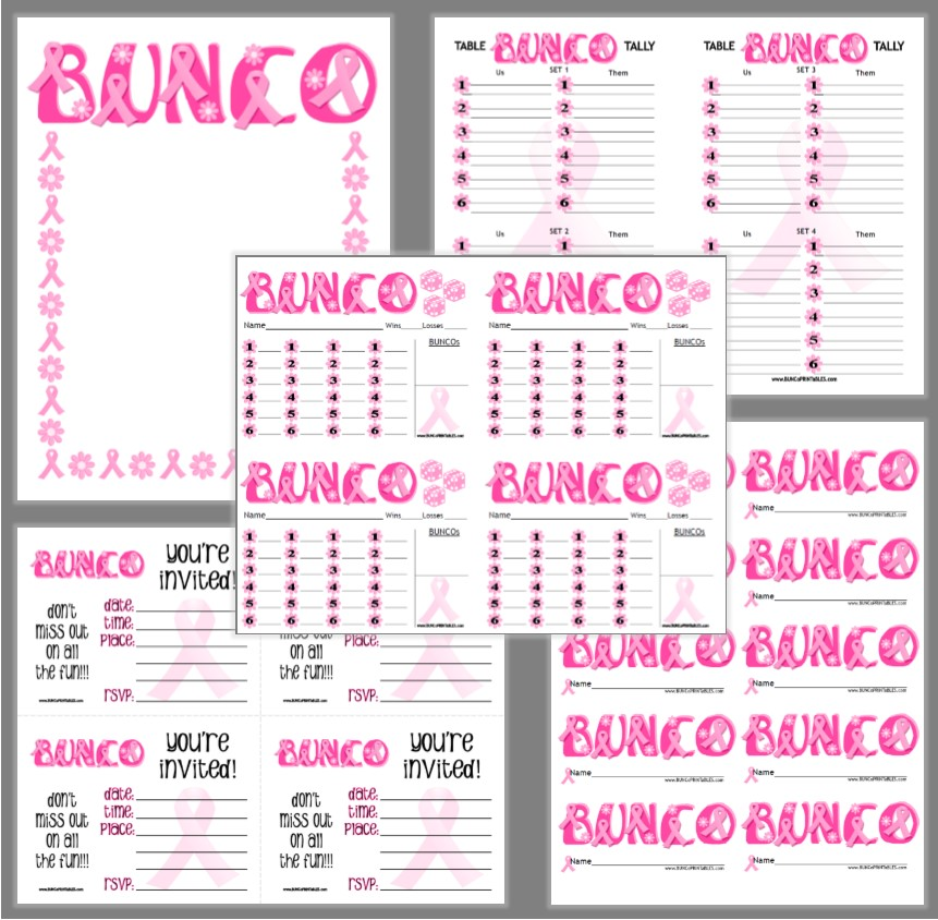 It's just an image of Sassy Bunco Tally Sheets Printable