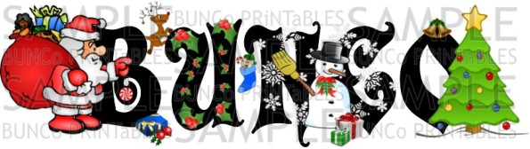 Christmas Cheer Bunco - Bunco Printables