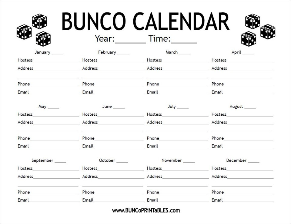Playful image in bunco rules printable