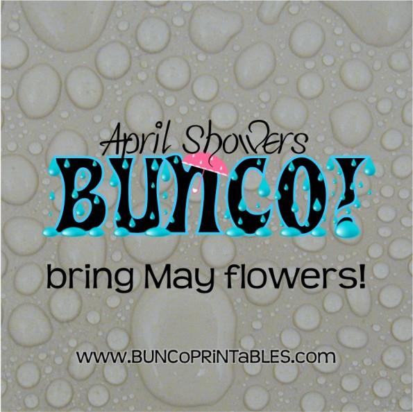april showers bunco