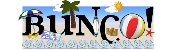 Beach Fun Bunco Set | www.BuncoPrintables.com